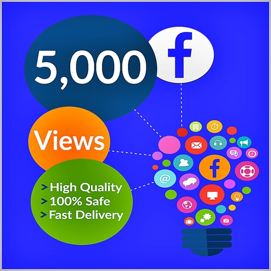 I will Add 5000 Facebook Video Views to increase your video reach