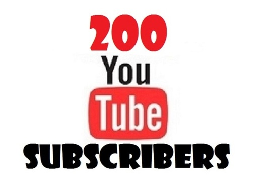 give you 200+ VERIFIED Youtube Subscribe