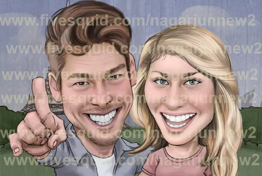 I will cartoon CARICATURE from photo
