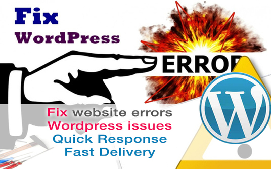 I will fix wordpress issues, errors or wordpress css or html problem instantly