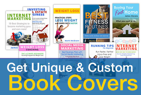 design a completely professional ebook cover within 24 hours