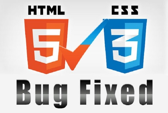 I will fix issue HTML and CSS