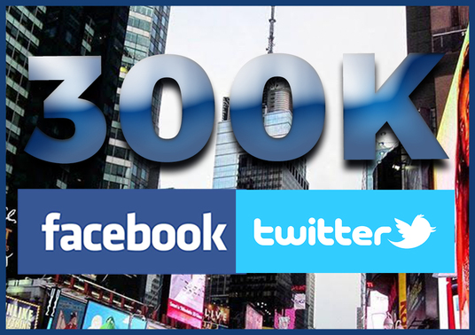 I will promote your business to my 300k REAL people on Twitter and Facebook for UNLIMITED traffic