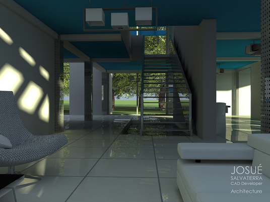 I will make a realistic Architectural Render