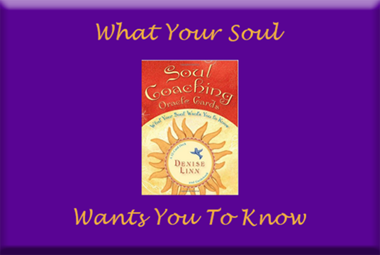 I will do a Soul Coach Oracle Card Psychic Reading