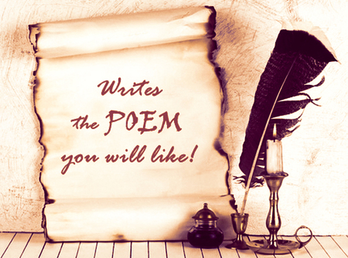 write a poem for you