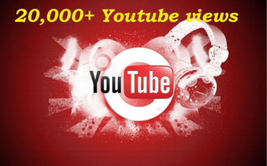 I will give You Very Fast 20000+ Youtube Views in less than 96 hours +50 Likes   special deal on