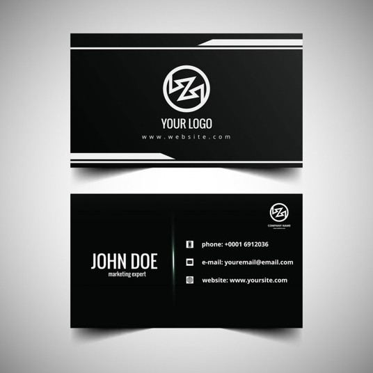 I will design simple and Cool Double Sided Business Card
