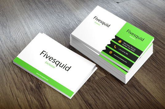 Professional business card design services fivesquid i will design professional business card quickly reheart Image collections