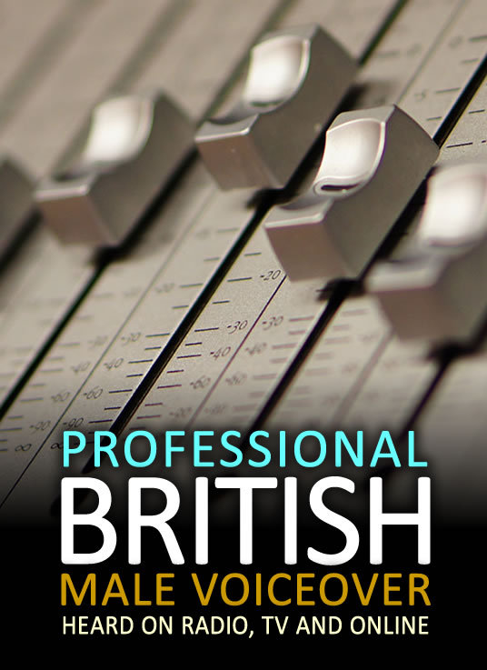 I will record 100 words of professional British male voiceover