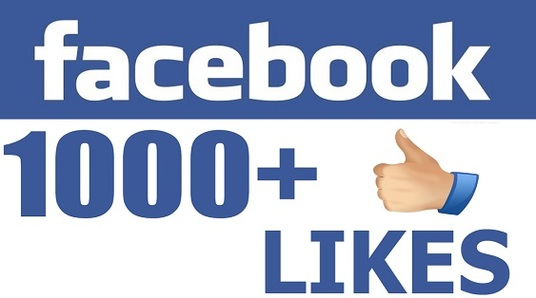 add 1000 Real Facebook Likes to your Fan Page