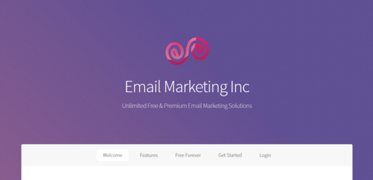I will create you a fully functional email marketing business, including a website & back