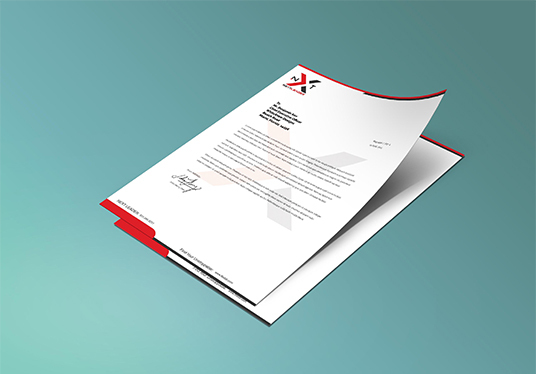 I will Design a Super Professional Letterhead