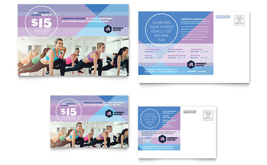 I will Design your elegant and attractive double sided Postcard