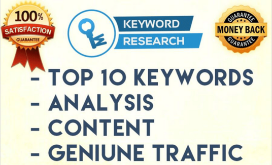 I will run in Depth SEO keyword research by LongTail Pro
