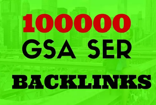 I will 100000 seo google authority backlinks gsa tier 3