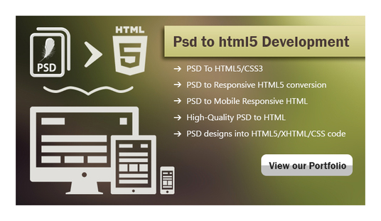 I will convert any PSD/jpg to HTML/CSS with responsive design