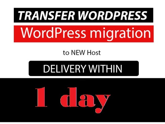 I will migrate, transfer ,fix your WordPress site