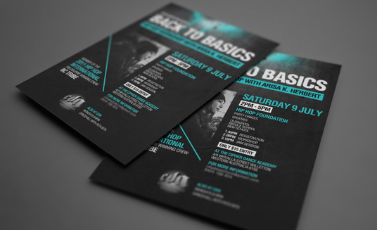 create an AWESOME flyer