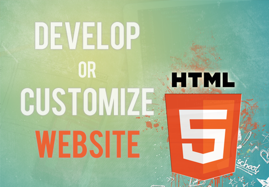 I will Create, Edit or Customize responsive html website