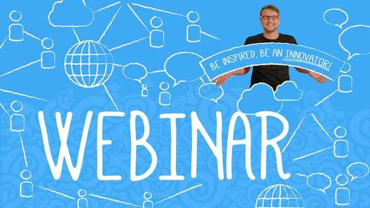 host a webinar session for your team/organisation/prospects