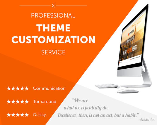 I will customize your wordpress theme exactly like demo