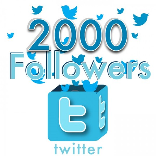 I will give you Real Non Drop 2000 twitter followes Instant 24hrs