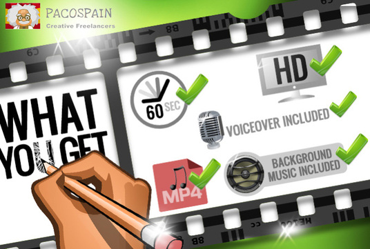 create an awesome high quality EXPLAINER video for your business or crowdfunding campaign