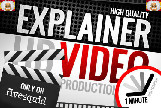 I will create an amazing high quality explainer video