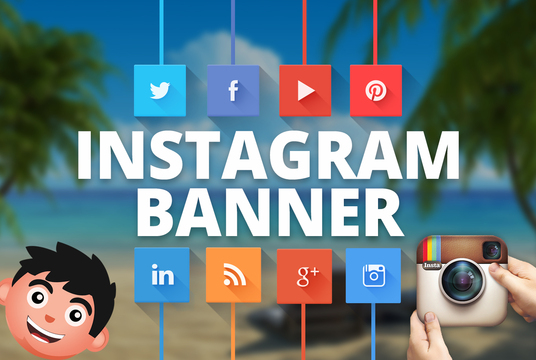 I will design PROFESSIONAL an Instagram Banner