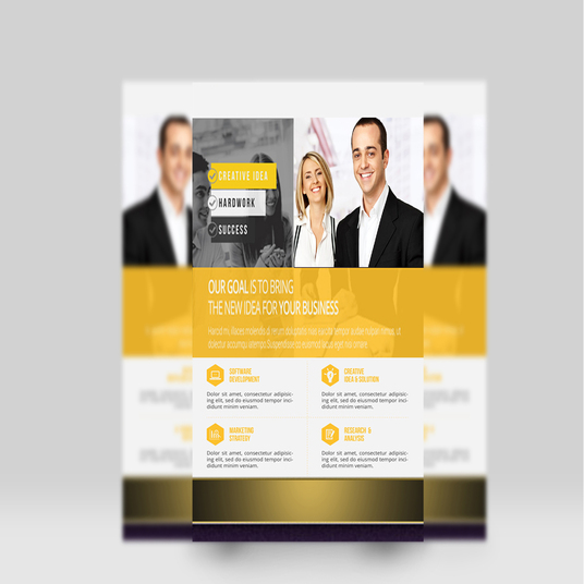 I will do fantastic flyer design within 24 hours