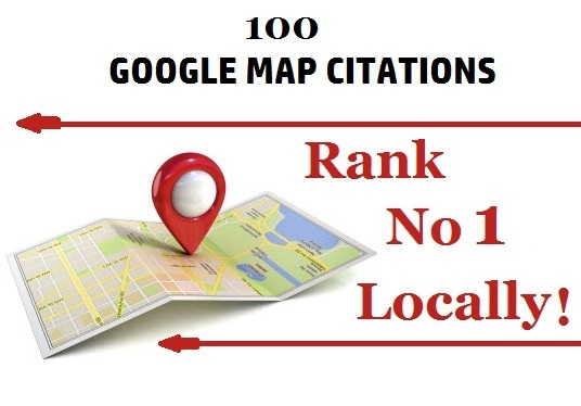 I will Manual 100 Google Maps Citations for Local SEO