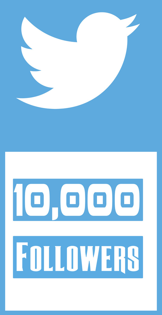 I will Add 10,000 Twitter Followers