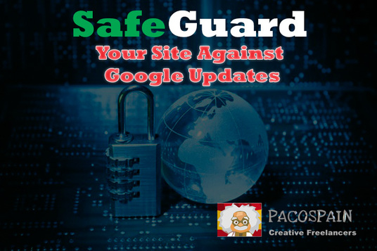 I will safeguard your Site against future Google updates with 10 High PR 9 Backlinks