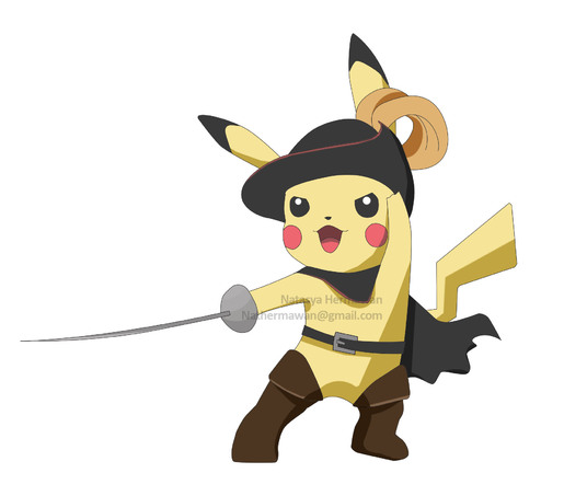 I will draw your favorite pokemon in costume