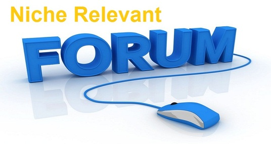 I will do 10 high quality forum posting link niche relevant