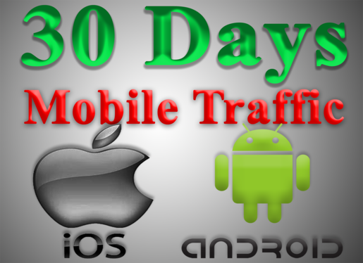 get 30 Days of MOBILE Web Traffic