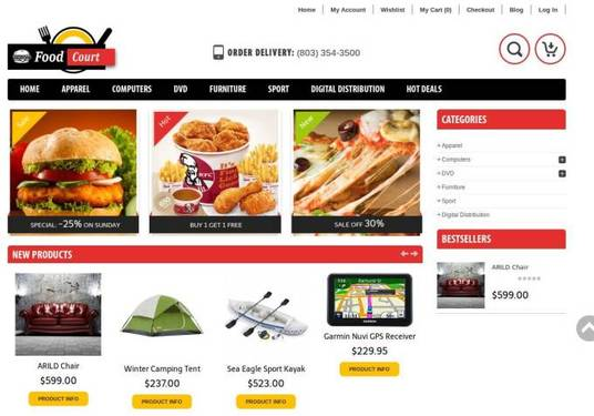 I will build eCommerce Website Online Store
