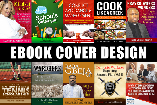 I will design an eye catching Ebook cover