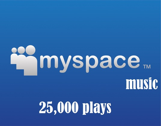 I will  drive 25000 Myspace Music Plays to any Song