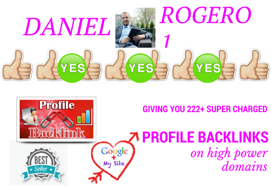 I will give you 222 super charged profile backlinks on high power domains to help you beat your c