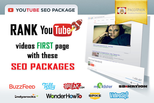 Rank YouTube videos first page with these SEO Packages