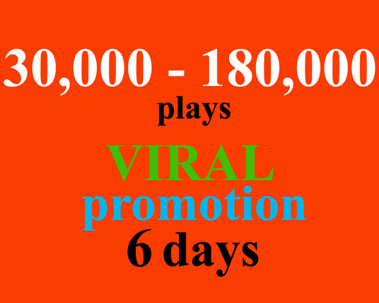 I will do 6 days of VIRAL SoundCloud promotion