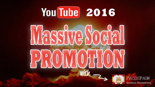 I will MASSIVE YouTube Video Targeted Social Promotion for High Quality Traffic