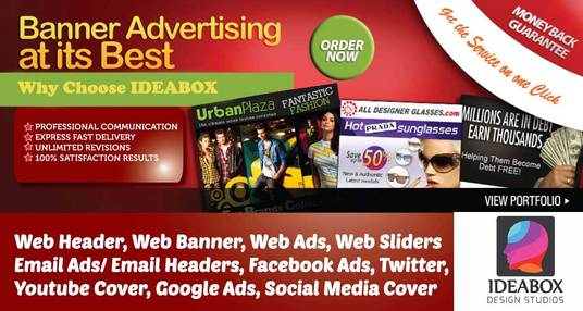 I will Design Banners Billboards Flyers Professionally