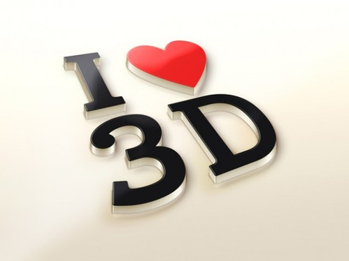 Design breath taking 3D logo
