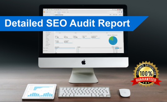 I will give you Details SEO Audit Report and Action Plan for Google top SERP Ranking