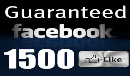 I will Add 1500+ Real FACEBOOK Likes