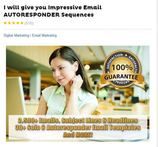 I will give you Impressive Email AUTORESPONDER Sequences