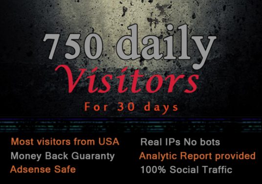 I will drive unlimited usa targeted 30 day traffic, visitors,website for£10